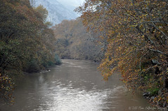 Pinios River! (Manos Eleftheroglou (Photography)) Tags: bridge blue autumn trees winter colour fall film nature water ecology creek forest river greek canal nikon europe day niceshot colours village cross natural hiking scenic hellas tranquility natura scene greece climbing waters griechenland narrow 2012 ecological greeks tempi waterscape autofocus natureworld autumnmood   d5000 anawesomeshot aplusphoto flickraward   betterthangood apusphoto   nikonflickraward  nikonflickaward artofimages   nikond5000 bestofmywinners doublyniceshot doubleniceshot blinkagain dblringexcellence makisamos flickrbronzetrophygroup bestofblinkwinner