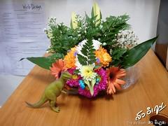 การจัดแจกันดอกไม้