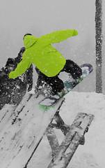 Snowboard trick (angrodZ) Tags: street snowboard panarotta