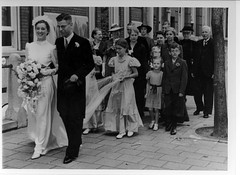 My parents' Wedding (FredV45) Tags: wedding amsterdam 1943 parentsv