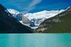 Lake Louise, Alberta, Canada. (Thatsanotherdory) Tags: mountain lake canada canoe glacier louise circularpolarizer d80 greenscene anawesomeshot