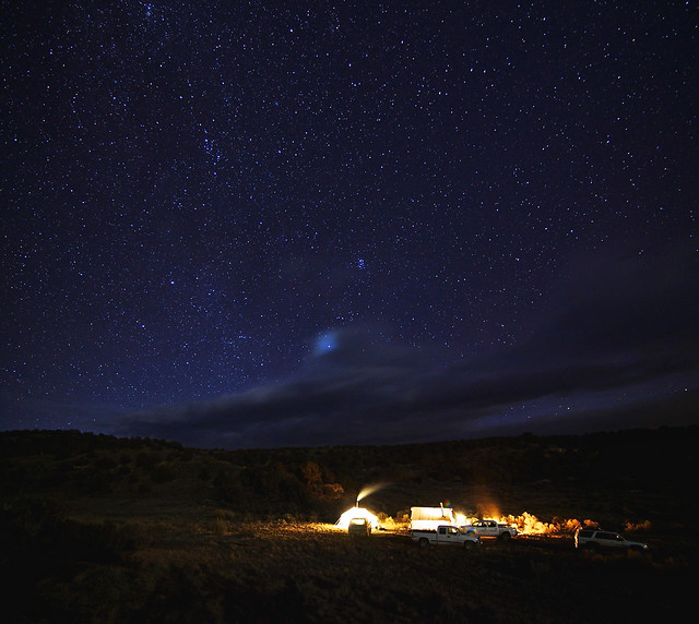 Hunt Camp Under the Stars