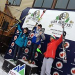 Roger Carry (BC Team/Fernie Alpine Ski Team) wins Mt. Norquay Van Houtte Cup Slalom Dec 8/12