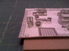 Pallet Town 02 ((>'o')>_WA-OH) Tags: paper nintendo pikachu pokemon gameboy diorama papercraft 1stgen rby pallettown