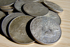 Money Shots Ver6 (ccPixs.com) Tags: money silver coins creative commons currency dollars finance