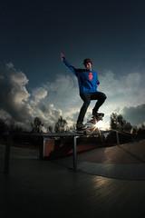 Toni back to the game (EsteveSegura) Tags: park amazing skate toni sant alvarez segura esteve cugat streetboard