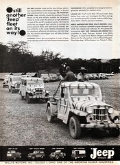 1962 Willys Jeep Fleet Vehicles (aldenjewell) Tags: movie wagon jeep howard ad utility pickup universal 1962 willys hawks hatari fleetvan fc170