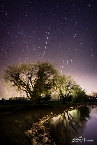 2012 Gemenid Meteor Shower