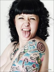 Sarah . (peter353) Tags: tattoo sarah sam piercing tattoos