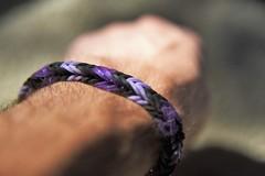 July 13, 2016 (Legodude:)277) Tags: bracelet purple black fishtail wrist