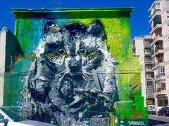 Il procione -murales Artur Bordalo II -Lisbona (blanka309bb) Tags: street art lisboa 3d bordalo ii rifiuti urbani arte murales