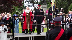 Freedom of Rossendale Parade the Duke of Lancasters Regiment (mrrobertwade (wadey)) Tags: smart mayor granville salute lancashire soldiers morris rossendale rbc milltown haslingden wadey robertwade wadeyphotos mrrobertwade