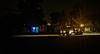 """WE'LL LEAVE THE LIGHT ON FOR YOU"" (akahawkeyefan) Tags: streetsweeper davemeyer kingsburg light blue house strreet"