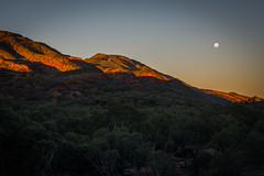 MacDonnell Ranges Redbank Gorge sunset Northern Territory-2