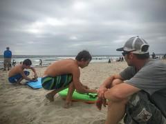 Cali (barxtattoo) Tags: water fun mission beach sand boogieboard
