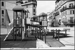urban playground (enrico cinti) Tags: leica r9 summicronr 35mm 1stver acros100 hc110 131 rome urban playground