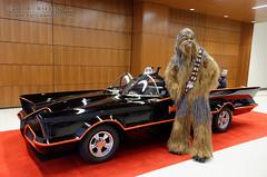 DSC_3235 (slamto) Tags: cosplay fanexpo car batmobile batman starwars wookie chewbacca