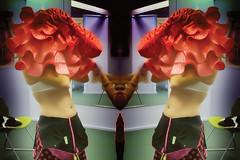 Dressing (__Santi__) Tags: robe traje dress probador cabine essayage dressing room changing dojo rouge red