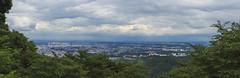 Tokyo, de trs loin (StephanExposE) Tags: japon japan tokyo takao monttakao montagne mountain mont nature arbre tree nuage cloud ciel sky panorama panoramique canon 600d 1635mm 1635mmf28liiusm ville city