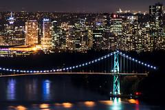 The Pearly Gate - Vancouver, BC (Michael Thornquist) Tags: lionsgatebridge stanleypark vancity downtownvancouver vancouverphotos vancouver britishcolumbia dailyhivevan vancitybuzz vancouverisawesome veryvancouver 604now photos604 explorecanada ilovebc vancouverbc vancouvercanada pacificnorthwest pnw metrovancouver gvrd canada bridge suspensionbridge burrardinlet vancouverlookout firstnarrows vancouverconventioncentre