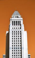 city hall (diegosevillaphoto) Tags: losangeles city hall colors hue sky building architecture vintage cool