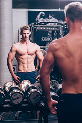 Georg Dorn (benni_schuetzenhofer) Tags: training fitness gym daygym austria vienna motivation bodybuiling weights model chest abs biceps muscles muscle stoned toned shredded guy man