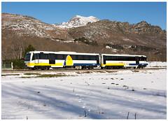 Valdepiélado 21-02-16 (P.Soares) Tags: renfe neve passageiros tren train trains transportesxxi terminalintermodal linha automotora automotoras portugalferroviário lusocarris