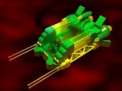 Biotron Shuttle (Crimso Giger) Tags: lego moc space biotron spaceship starship ship shuttle