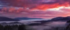 Breaking Dawn in The Trossachs (J McSporran) Tags: scotland trossachs lochlomondandtrossachsnationalpark dukespass dawn dawnmist landscape