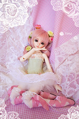 Emma ballerina (timachan) Tags: kiddelf dollmore ballet msd abjd asianballjointeddoll eventhead event bjd balljointeddoll luts