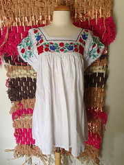 Fake Mexican Blouse Made in India (Teyacapan) Tags: india asian copies mexicanblouses fakes fakemexicanclothing