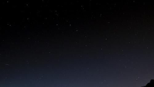 Sternenhimmel im August