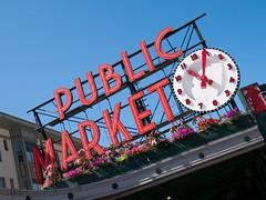 Pike Place Market, Seattle, WA (John Wood Photography) Tags: seattle pikeplacemarket lumixg7 panasonic johnwoodphotography travel usa