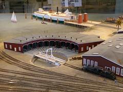 Railroad & Ferry Museum 5/5 (Jef Poskanzer) Tags: tiburon tiburonrailroadferrydepotmuseum museum model geotagged geo:lat=3787255 geo:lon=12245214 roundhouse t