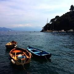 Portofino (Silvia On a Cloud) Tags: barche barca blu mare landscape romantic panorama landscapes peace summer boats boat colors sea blue italy italia portofino