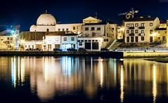 CRW_9851 (Diamantino Dias) Tags: portugal vila do conde rio ave noite gua luz nocturno flores canon espelho
