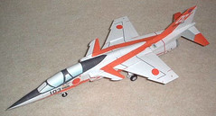 Mitsubishi T-2 CCV Jet Trainer Aircraft Paper Model Free Template Download (PapercraftSquare) Tags: 150 aircraftpapermodel mitsubishi mitsubishit2 mitsubishit2ccv t2