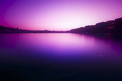 My Mirror (Laurent DZQ) Tags: mirror nd8 annecy french alps nature longexposure sunset canon 6d 1635mmf28 pink lake