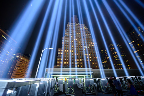 9/11 'Tribute in Light' shines in NYC
