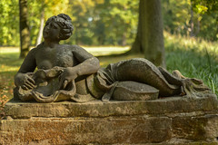 Schloss Molsdorf  (2) (berndtolksdorf1) Tags: deutschland thringen molsdorf erfurt schlosspark statue outdoor figur