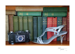 Paparazzo (heritagefutures) Tags: ultra fex 69 camera film shoe dancing books louis becke wildlife southern seas yorke adventurer silver slipper paparazzi paparazzo glamour fun irony