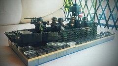 Special Boat Team 20 (Commander Turtles) Tags: lego swcc sbt socr brickarms citizen brick eclipse grafx bricks custom