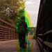 Walk away (Harris shutter effect)