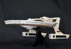 DSC_4728 (jonmunz) Tags: lego star trek spaceship uss reliant starship wrath khan