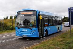 Nottingham City Transport (Hesterjenna Photography) Tags: nottingham nottinghamcitytransport yx63lje bus coach psv singledecker enviro200 enviro alexander alltypesoftransport alexanderdennis city