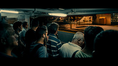 Ferry to Kadiky, Istanbul (emrecift) Tags: candid street photography low light kadiky ferry istanbul cinematic 2391 anamorphic sony a7 alpha canon new fd 28mm f28 wide angle legacy lens emrecift