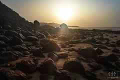 =] FUERTEVENTURA | sunrise [= (oolcgoo) Tags: sony slt sal1650 ssm alpha amount apsc adobe a77mii fuerteventura beach strand costa calma sun sunrise sonne travel stone stein hollyday