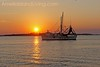 Shrimp boat on river off Fort Clinch State Park, Fernandina Beach