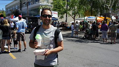 """Chris's first snow cone! • <a style=""""font-size:0.8em;"""" href=""""http://www.flickr.com/photos/87636534@N08/8156841277/"""" target=""""_blank"""">View on Flickr</a>"""