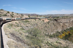 Verde Canyon Railroad (twm1340) Tags: county railroad arizona verde train river tour scenic rail az canyon sycamore valley 2012 fp7 clarkdale yavapai emd